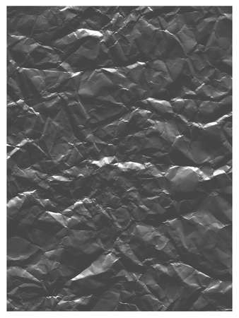 Abstract curve background with a texture of crumpled foil. Can be used for posters in grunge retro style