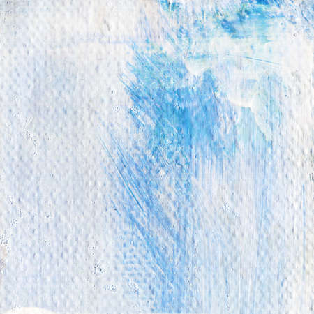 abstract textured acrylic background in blue shades background