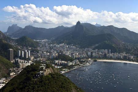 Panoramic view of botafogo beach and surroundings, Rio de Janeiro photo