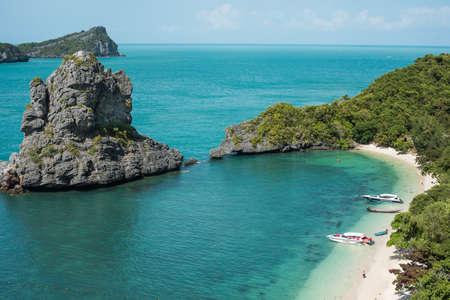 angthong: Angthong Islands National Marine Park.  Koh Sam Sao. Editorial