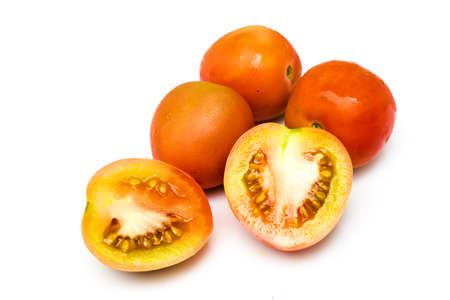 tomato slice: tomato and tomato slice