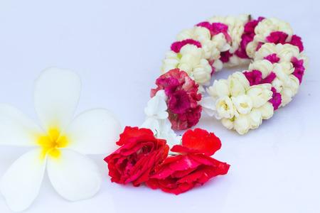 profess: garland flower Stock Photo