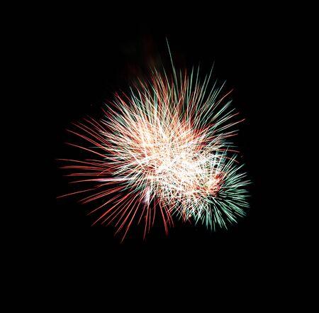 extol: Beautiful fireworks