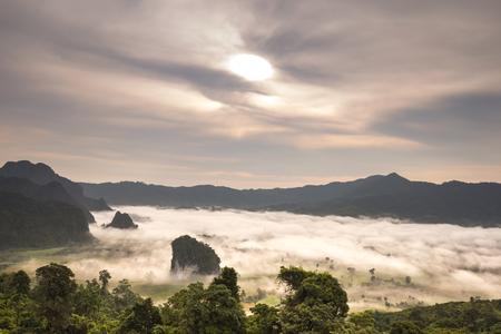 staging: Phu Lanka,Phayao,Thailand.