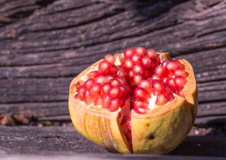 hashana: pomegranates Stock Photo