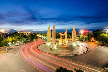 democracy monument: Thai Democracy Monument Stock Photo