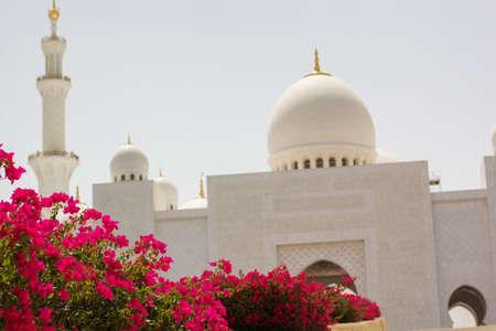 zayed: Abu Dhabi Sheikh Zayed White Mosque, Emirates