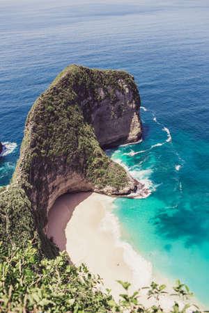 Kelingking bay, the island of Nusa Penida, Indonesia
