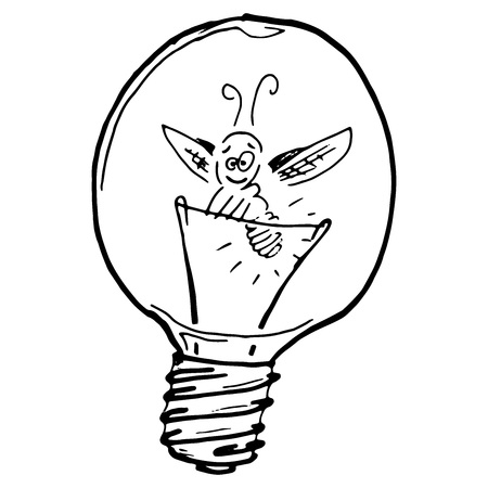 11101 Light Bulb Sketch Cliparts Stock Vector And Royalty Free