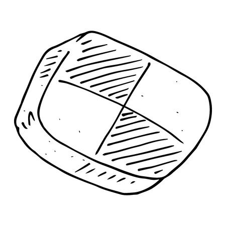 Cookies icon. Vector illustration of cookies. Biscuit hand drawn. Standard-Bild - 113542576