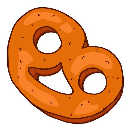 Cookies icon. Vector illustration of cookies. Hand drawn. Standard-Bild - 116796575