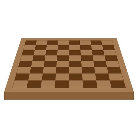 Vector illustration of a chessboard. Chessboard.