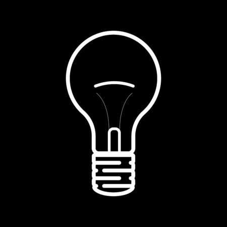 Vector of a light bulb.