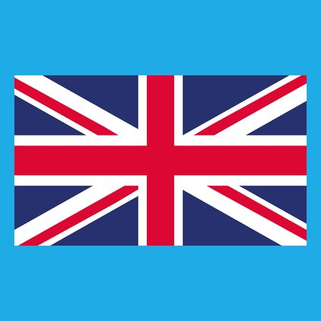 Flag of the Great Britain. Vector illustration of the flag of Great Britain.