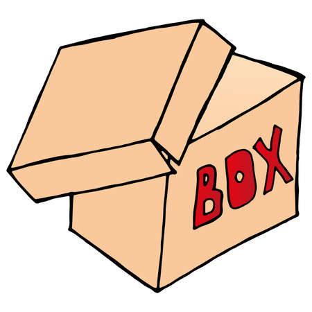Gift box icon. Vector illustration of a gift box, package. Christmas gift. Vecteurs