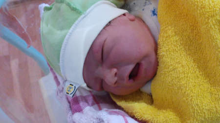 somnolent: The newborn loudly asks for food