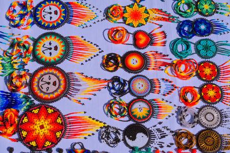 The custom of Huichol art is very old.