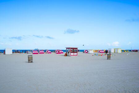 A day at the beach in Miami Beach Forida. Imagens