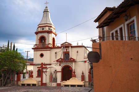 Church of the town of La Yerbabuena in the Municipality of Mascota Jalisco.