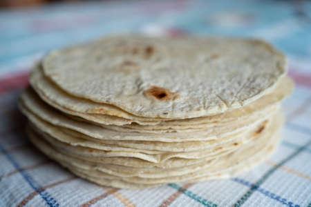 One kilo of corn tortillas.