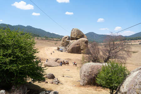 The rocks of Tapalpa in Jalisco are an attraction for everyone.