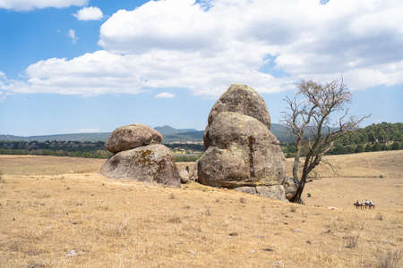 The Rocks of Tapalpa Jalisco are a tourist attraction.