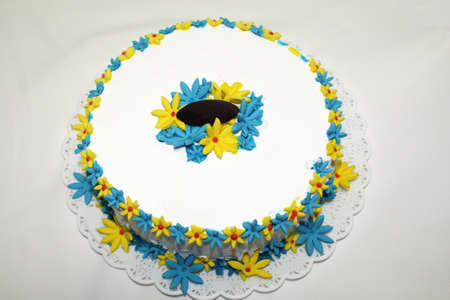 chantilly: chantilly cake flowers decoration dessert