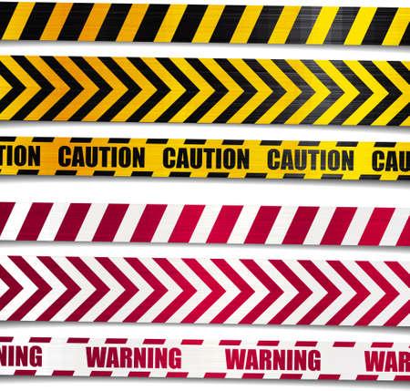 hazard stripes: Warning caution ribbon danger stripe cross
