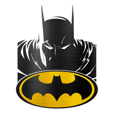 Batman cómico logo ilustración bat Foto de archivo - 78121324