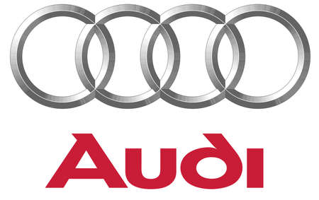 audi logo automotive luxury Editorial
