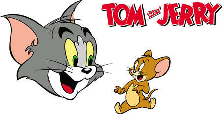 tom and jerry illustration classic