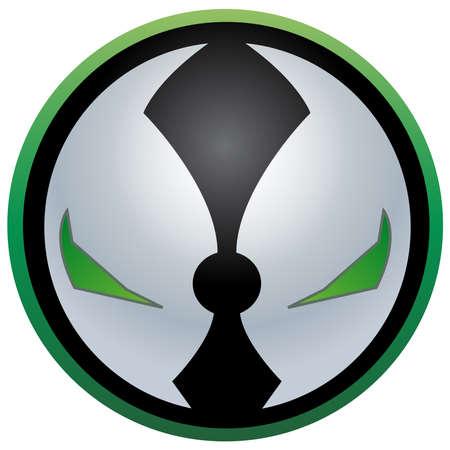 marvel: Spawn Mask illustration marvel Stock Photo