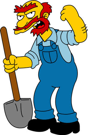 groundskeeper: Groundskeeper Willie The Simpsons