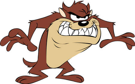 taz tasmanian devil illustration cartoon