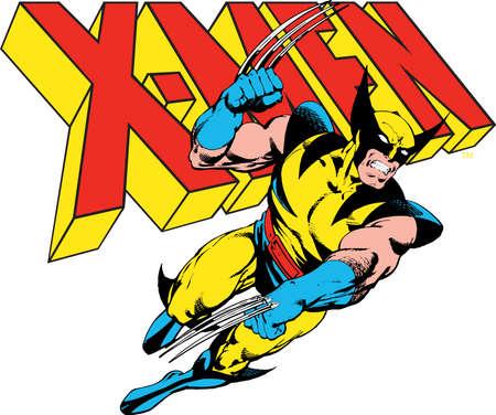 wolverine: wolverine x men illustration hero Editorial