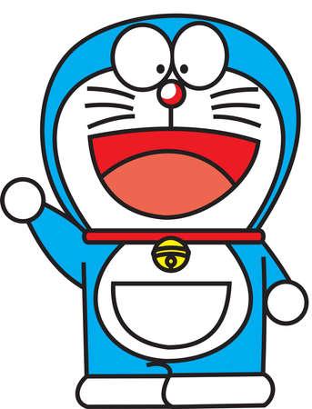 Doraemon Japan Manga Abbildung Standard-Bild - 81093435