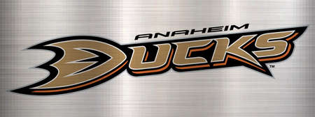 anaheim ducks NHL metal