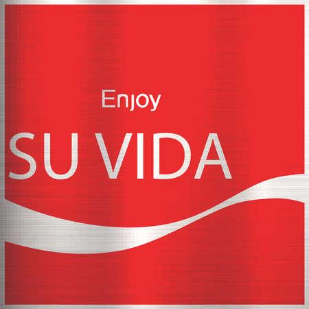 ejoy your life translation spanish Imagens - 82008156