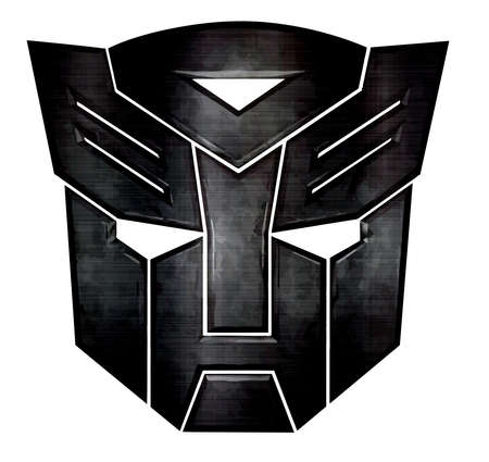 Autobot from Transformers metal illustration