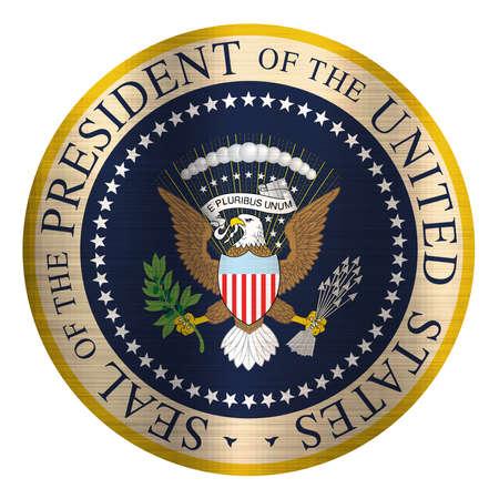 Sigillo Presidente degli Stati Uniti Archivio Fotografico - 82870229