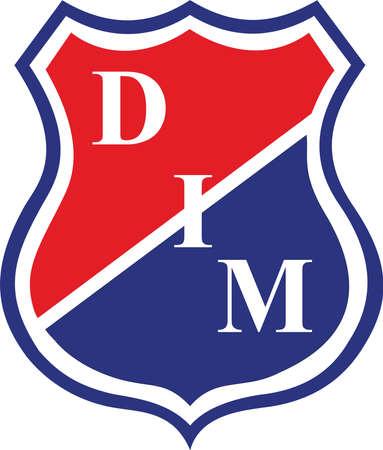 Independiente Medellin Logo  illustration Editorial