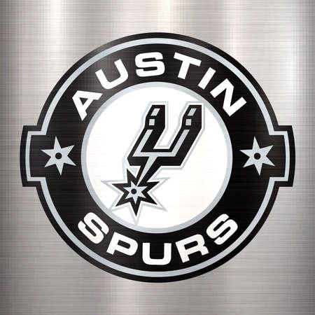 Austin Spurs sport illustration