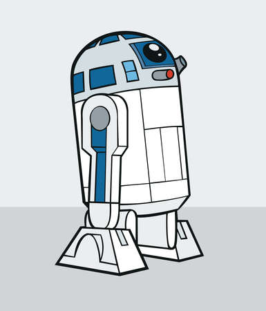 r2d2 star wars fiction movie