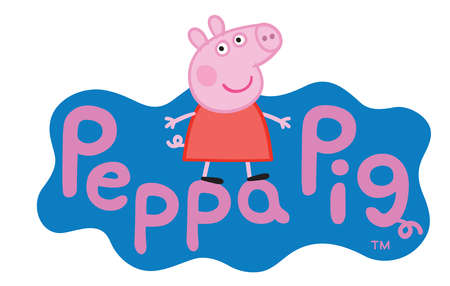 Peppa Pig kids cartoon illustration Editorial