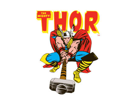 thor comics character illustration