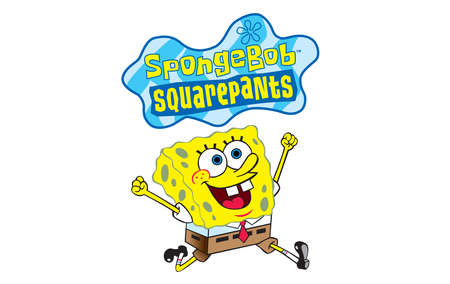 Spongebob Squarepants happy illustration