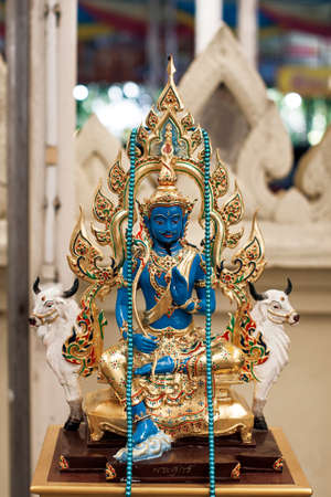 spirit thailand wat faith blue color