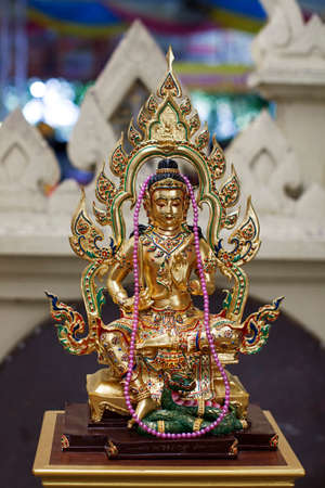 spirit thailand wat faith golden color Stock Photo