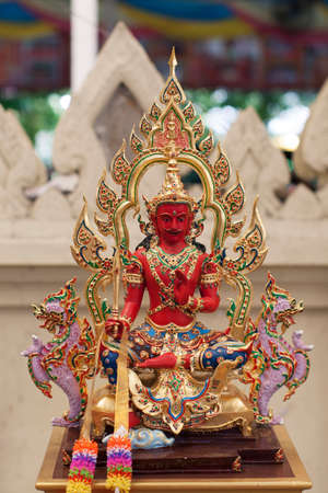 spirit thailand wat faith red color