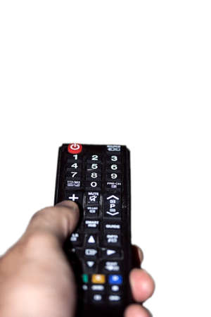 hand remote control pointing tv technology